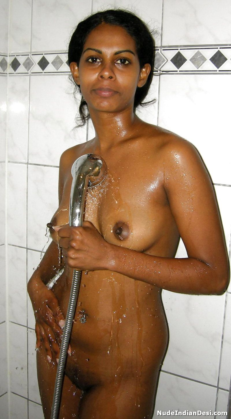 cute and young desi wife taking a shower nude photos – nude indian